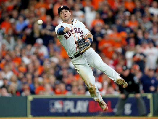 USP MLB: ALCS-BOSTON RED SOX AT HOUSTON ASTROS S BBA HOU BOS USA TX