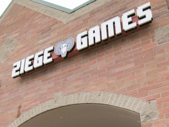 Ziege Games on Old U.S. 23 in Hartland, shown Tuesday,