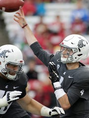 Can Washington State quarterback Luke Falk keep his