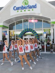 Last August's grand opening/ribbon cutting of a new Cumberland Farms store on Minton Road in West Melbourne included dozens of customers, officials and Central Middle School Highsteppers, a dance team that has won numerous dance competitions.