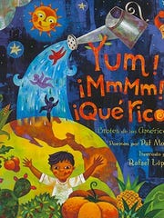 'Yum! ¡MmMm! ¡Qué Rico!' byPat Mora and illustrated by Rafael López