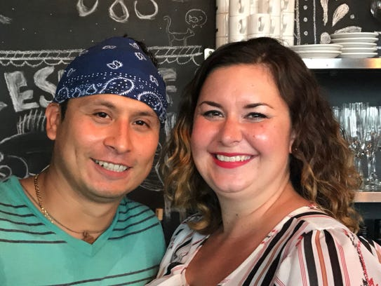Chef Otilio and Megan Gonzalez are owners of Nomad
