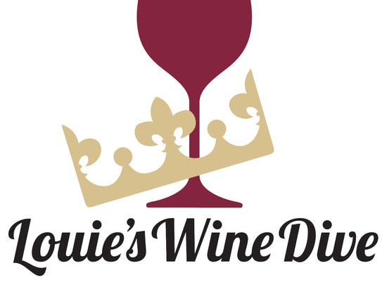 The logo for Louie's Wine Dive.