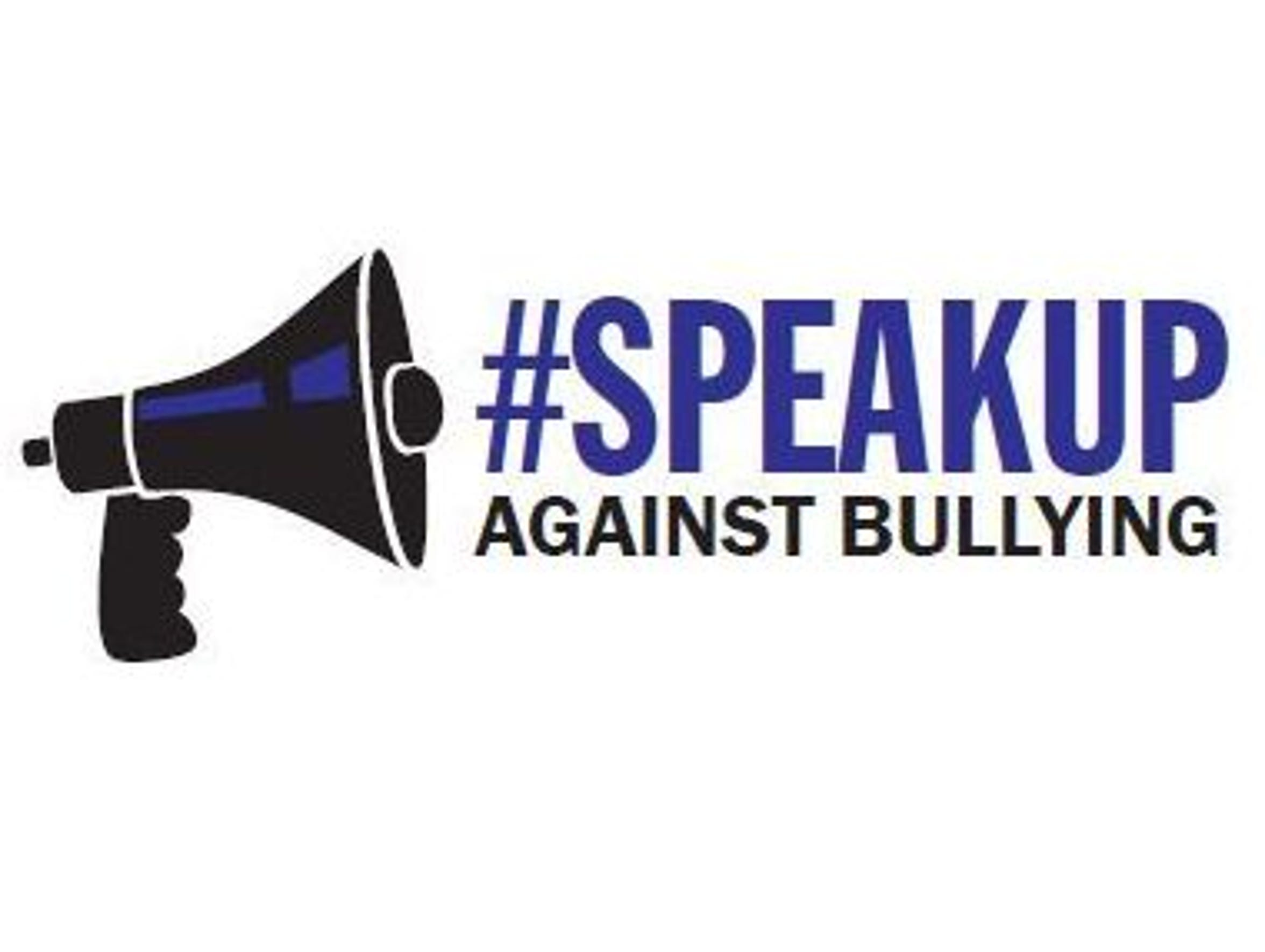 #SpeakUp Against Bullying logo