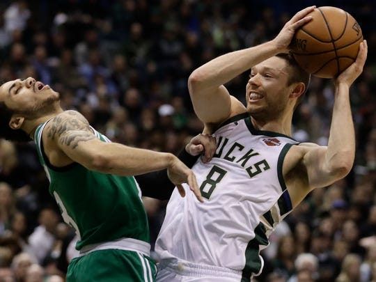 Bucks guard Matthew Dellavedova was never able to get into a rhythm this season as he endured a injury-plagued campaign in which he appeared in just 38 games.