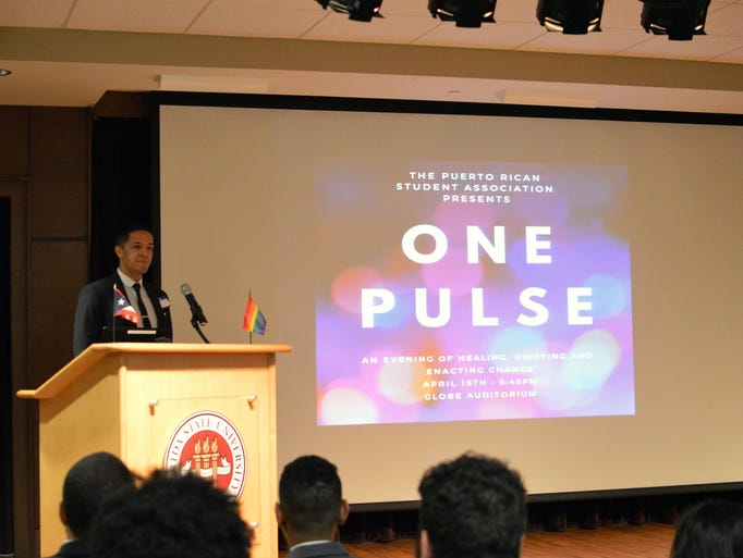 The Puerto Rican Student Union organized the One Pulse