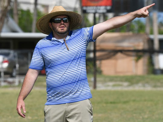 New Merritt Island Christian football head coach Greg Gage has been the school's athletic director since June.
