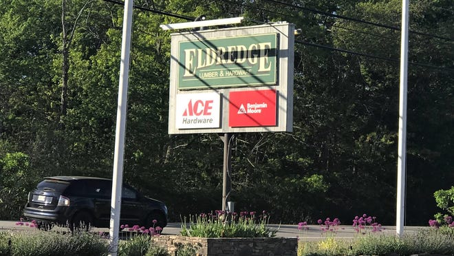 State officials are investigating a possible outbreak of COVID-19 in York, Maine, after 13 cases were linked to Eldredge Lumber & Hardware, as pictured here on Sunday, May 31, 2020. The business' general manager said his team has taken all necessary precautions and then some to keep workers and customers safe.