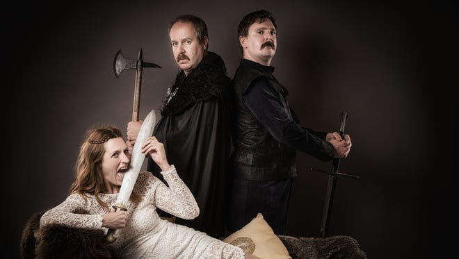 """Graeme of Thrones,"" a parody of ""Game of Thrones,"" stops at the State Theatre of Ithaca on Sunday."