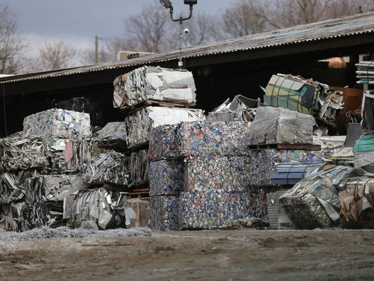 Scrap materials fill the property of Metal Conversions