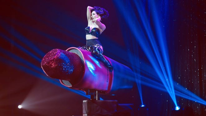 Dita Von Teese will perform May 19 at the Murat Theatre in Old National Centre.
