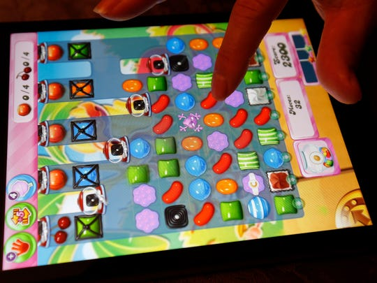 King Digital Entertainment's 'Candy Crush Saga' is