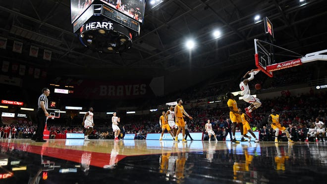 Louisville Slugger Complex in Peoria nearly landed a Division I college basketball tournament, which would have borrowed the floor and baskets used by Bradley at Carver Arena in Peoria.