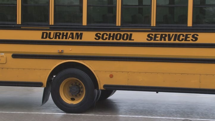 Durham School Services investigating the incident, say that safety is their top priority.