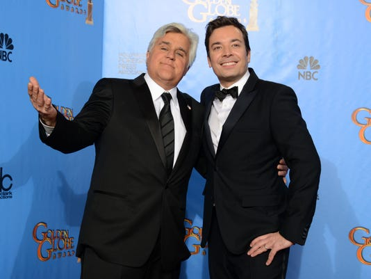 Jay Leno and Jimmy Fallon