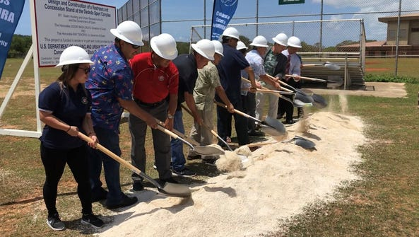 Guam Housing and Urban Renewal Authority break ground