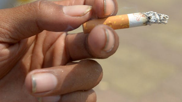 A Concord High School senior urges Delawareans to quit smoking.