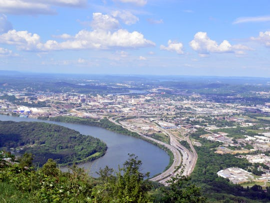 This photo was taken atop Lookout Mountain in Chattanooga