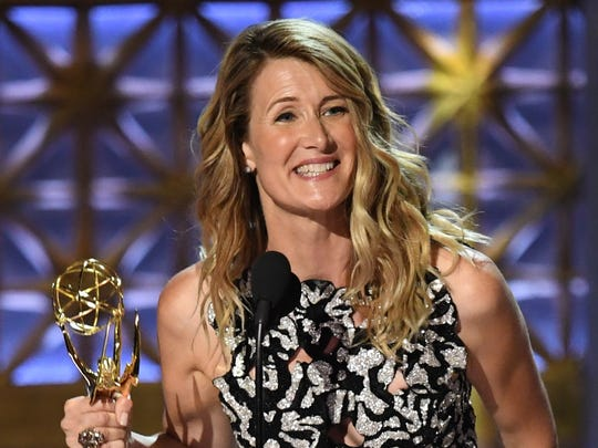 Laura Dern accepts outstanding supporting actress in