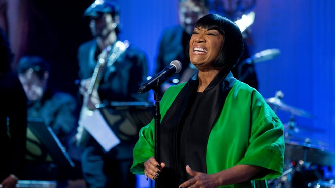 """Patti LaBelle sings """"Over the Rainbow"""" during the """"In Performance at the White House: Women of Soul"""" on March 6, 2014."""