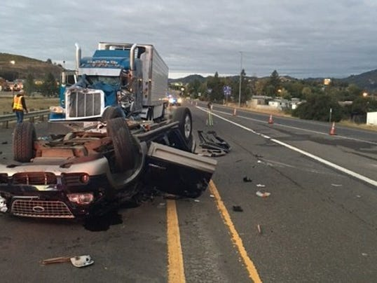 Madison : Accident on highway 22 oregon today