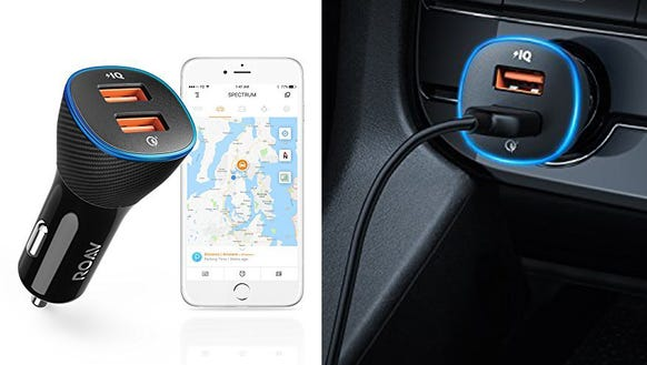 Find your car and charge your phone with this nifty
