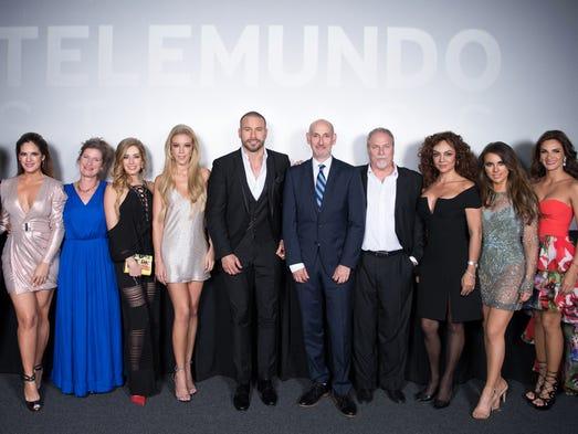 """Elenco y directivos de la quinta temporada de """"El Señor"""