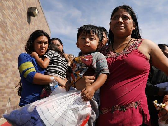 Es muy bajo el porcentaje de familias migrantes detenidas