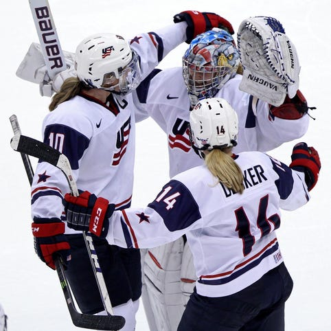 U.S. women's hockey team members share bold messages on social media