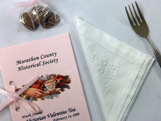 The annual Victorian Valentine Tea Party will be held this weekend at the Marathon County Historical Society. 2008 file photo.