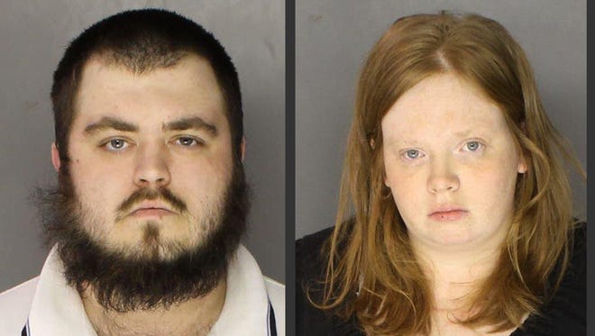 Gary Lee Fellenbaum, left, and Jillian Tait were charged Nov. 6, 2014 by the Chester County D.A.'s office with murder in the death of Tait's 3-year-old son, Scott McMillan.