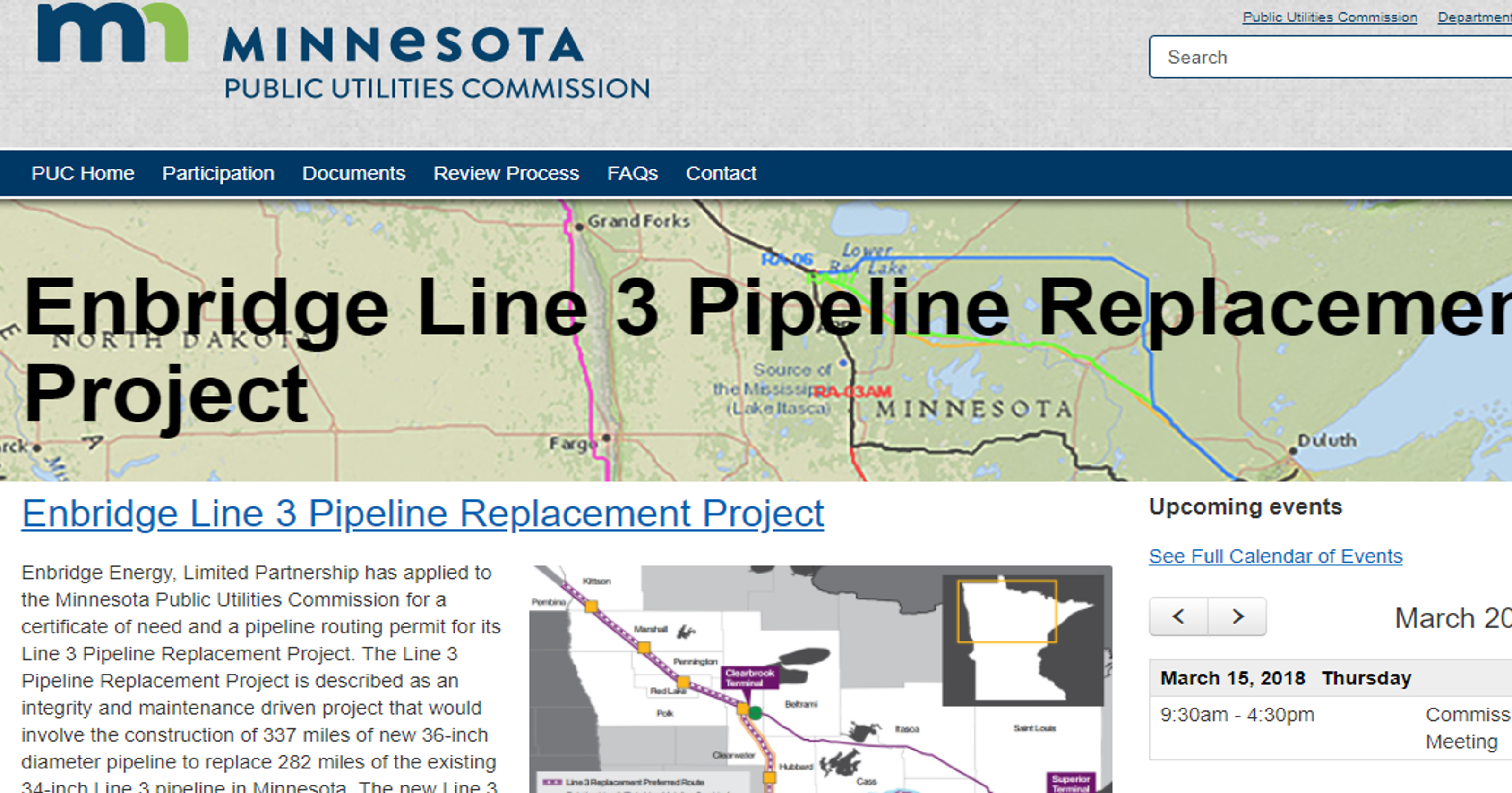 Bill allowing Enbridge pipeline without regulatory approval