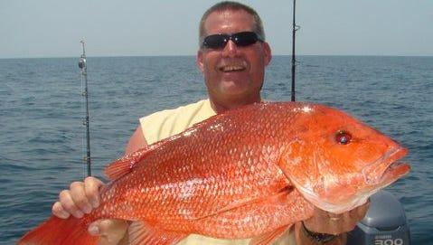 25-pound snapper.