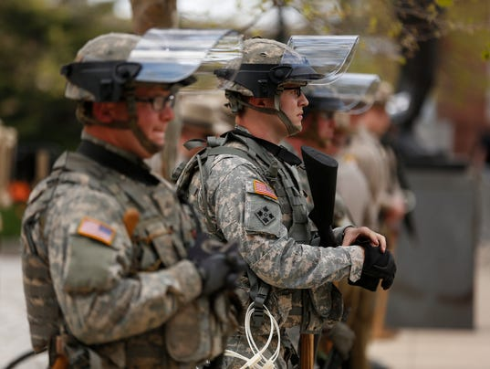 national guard baltimore MWM 20150428