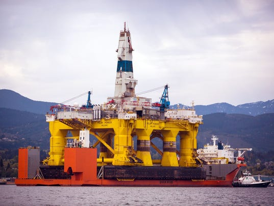 AP ARCTIC OFFSHORE DRILLING A FILE USA WA
