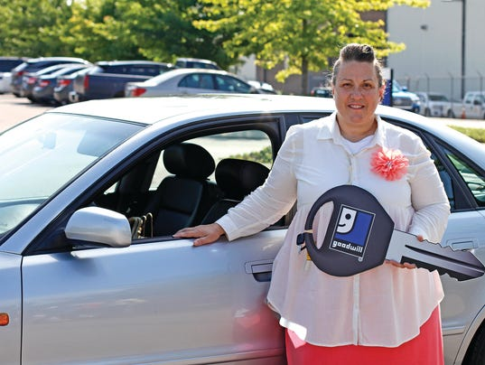 Shifting Into High Gear Donated Car Helps Lexington Woman
