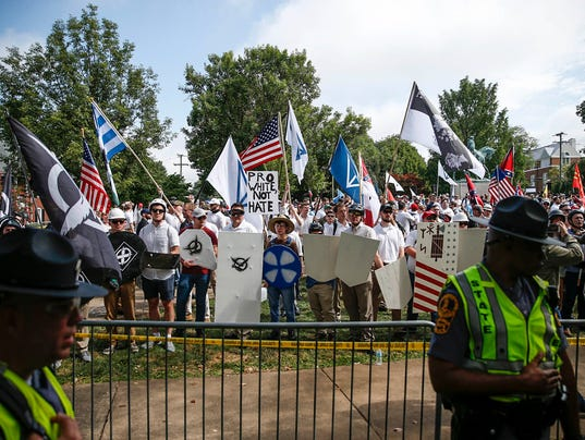 USP NEWS: UNITE THE RIGHT RALLY VA