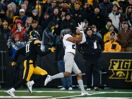 NCAA Football: NCAA Football: Purdue at Iowa