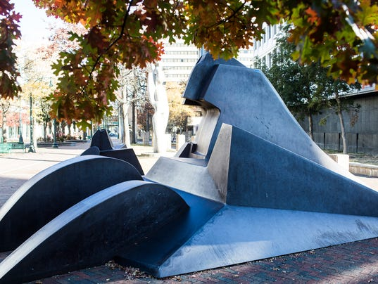 Mountaintop sculpture moving to more prominent Downtown spot as MLK50 gesture
