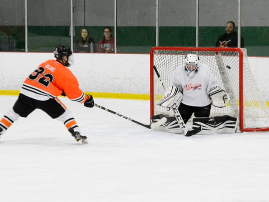 Susquehannock vs Central York ice hockey