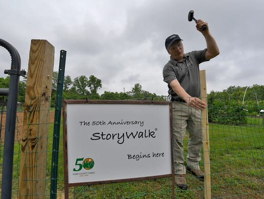 StoryWalk comes to York County Parks