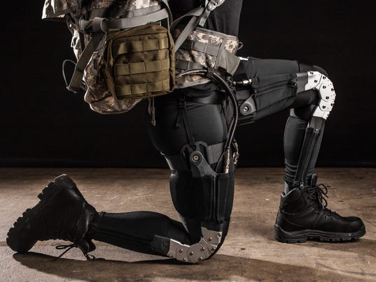 Army testing load-lightening exosuits Military Exosuit