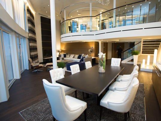 Living Large: New Cruise Ship's Swanky Mega-suites
