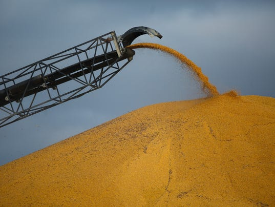 Record Crops Low Prices Mountains Of Grain: two story elevator cost