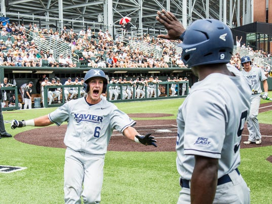Xavier baseball routs top-seeded Vandy in NCAA tourney