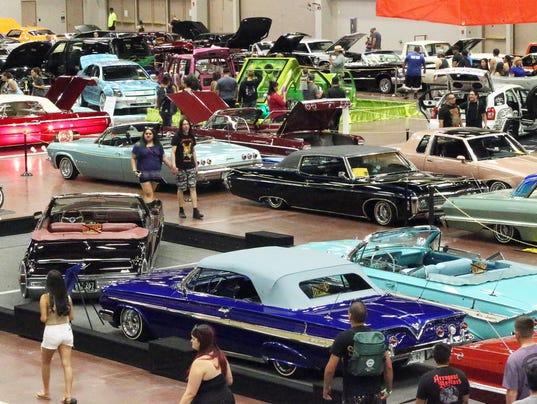 Border Classic Car Show Takes Over El Paso County Coliseum