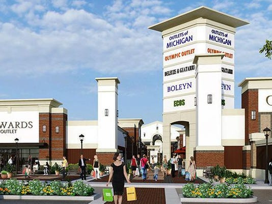 eec6743d96a7 Anchor tenants announced for Romulus  Outlets of Michigan