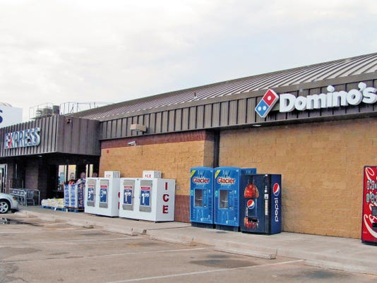 The new Domino's at Holloman will be located inside the Exchange Express. The Domino's pizza location offers an open kitchen that allows customers to see the pizzas being made, it has been open since July 1.