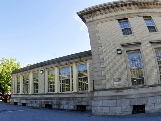 """Chambersburg's planning commission on Tuesday will consider a plan to build a nearly 4,500-square-foot addition onto the back of Coyle Free Library, pictured here. The borough manager said the completed building will be an """"anchor"""" in the downtown area."""
