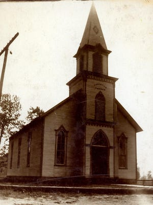 The original Shenandoah Christian Church was built in 1879 at a cost of $3,000.